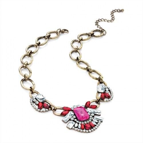 Růžový náhrdelník Gloria 28958