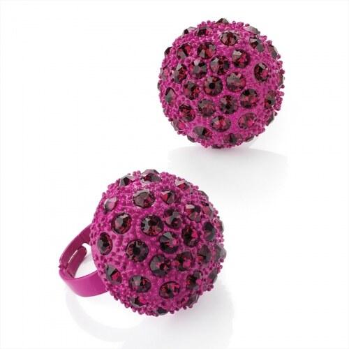 Růžový prsten Cocktail 24524