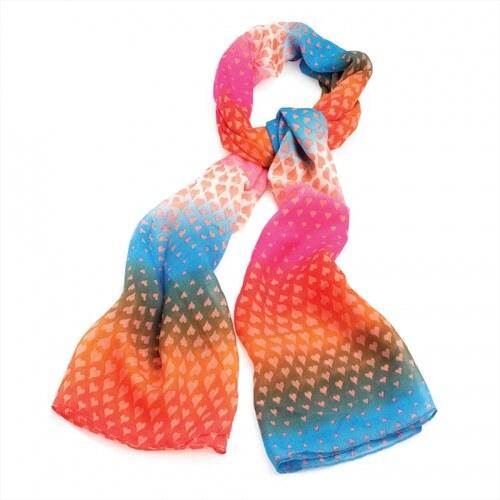 Dámský šátek Colour 29397 barevný
