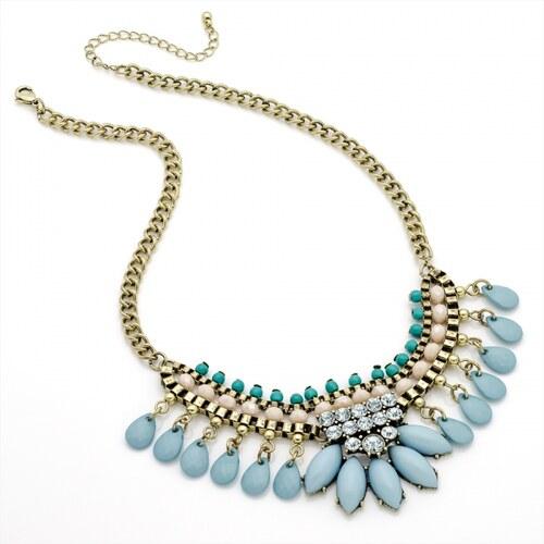 Modrý náhrdelník Sandy 29261