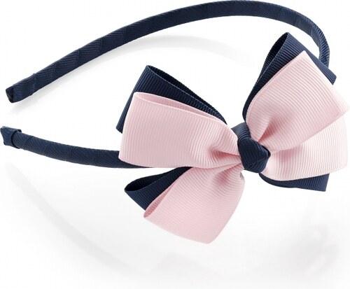 20cfdc33fb5 Modro-růžová čelenka do vlasů Tanya 29933 - Glami.cz