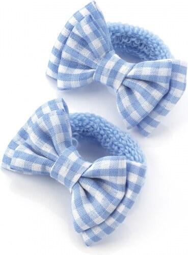 Dvě světle modré gumičky do vlasů 28136 - Glami.cz b8193a761f