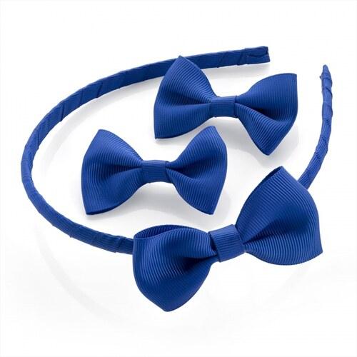 SET  Modrá čelenka a sponky do vlasů 29947 - Glami.cz c65f079080