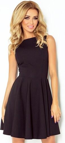 Numoco Spoločenské šaty čierne 125-5 - Glami.sk f4626ffb4e4