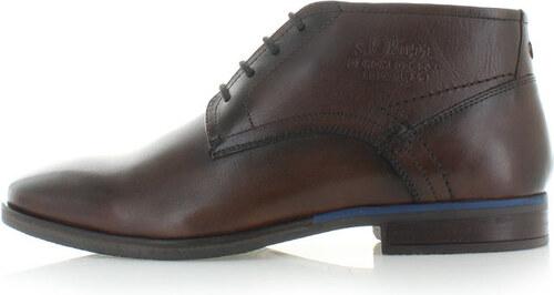 Pánské hnědé boty s.Oliver 15226 - Glami.cz e8a265c459