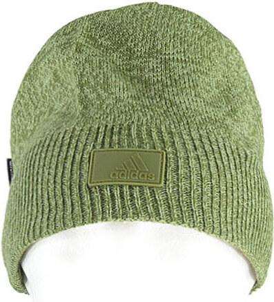 e59ad649fbe adidas PERFORMANCE Pánska zelená čiapka ADIDAS TRAINING CLIMAWARM BEANIE