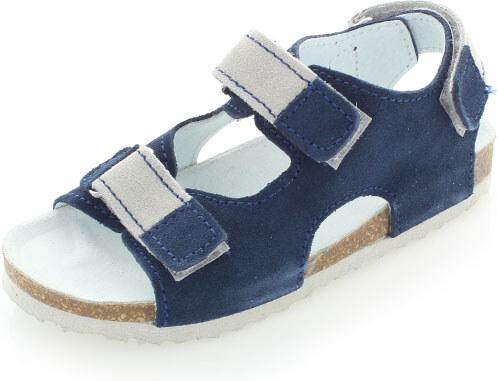cd93b798796b Detské tmavomodré sandále Protetika T27 Riva - Glami.sk