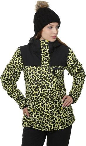 a22c08c18 bunda Roxy Jetty Block - YGP6/Hattie Stewart Zigzag Leopard L - Glami.sk