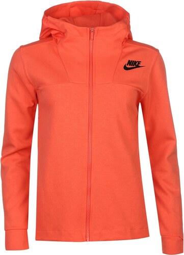 031598e27f87 Mikina s kapucí Nike Cape dám. červená - Glami.cz