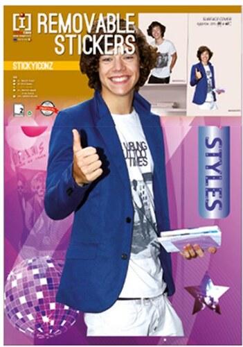 Nálepky na zeď One Direction Harry