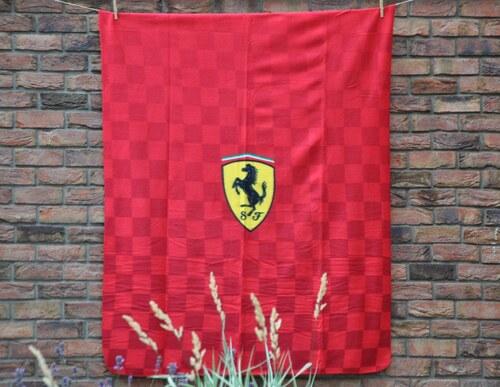 Ferrari fleesová deka