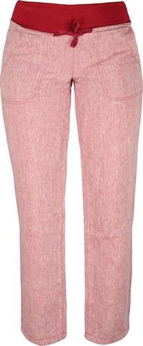 Dámské lněné kalhoty Rejoice - Urtica (červené) - Glami.cz 37939239c8