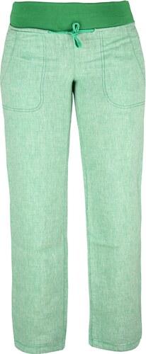 Dámské lněné kalhoty Rejoice - Urtica (zelené) - Glami.cz eb83ef104c