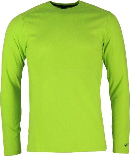 Pánské bavlněné tričko s dlouhým rukávem Rejoice Black - Opal LS (zelené) c69e832c3e