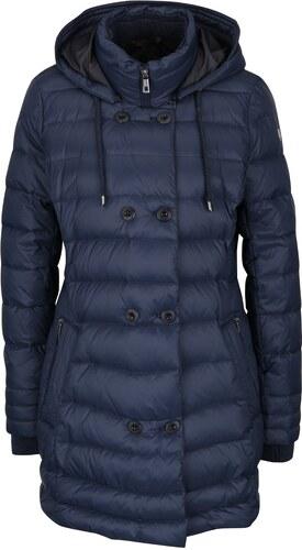 Tmavomodrý dámsky prešívaný kabát bugatti - Glami.sk d11b8cc6cb