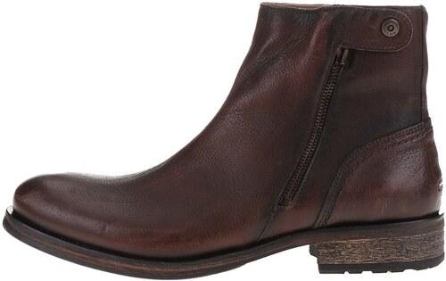 4703b6f4a3 Hnedé pánske kožené členkové topánky Tommy Hilfiger Dillan - Glami.sk