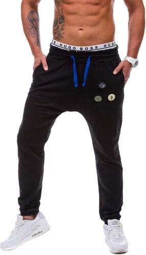99517d28d53 Černé pánské džínové jogger kalhoty Bolf 800 - Glami.cz