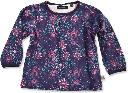 89daad6811d7 Blue Seven Dievčenské kvetované tričko - farebné - Glami.sk