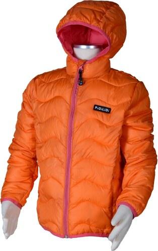 PIDILIDI Dievčenská nylonová prešívaná bunda - oranžová - Glami.sk 4da2b5c7877
