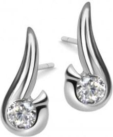 Eppi Platinové náušnice s 0.20 ct diamanty Evert - Glami.cz e9f1dbefee3