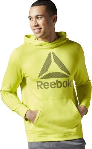 Pánská mikina Reebok Workout Warm Poly Fleece AY2438 - Glami.cz d76f796d49f