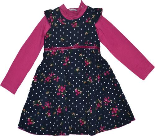 933dfb536233 Topo Dievčenské šaty s kvetmi a tričkom - berevné - Glami.sk