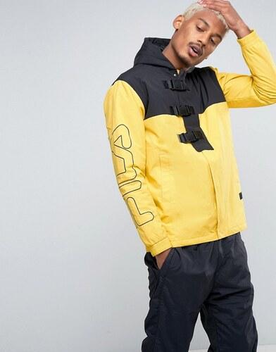 Veste fila jaune et noir