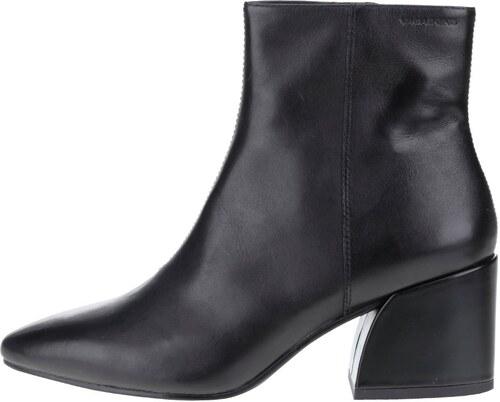 Čierne dámske kožené členkové topánky Vagabond Olivia - Glami.sk 3b260bf7058