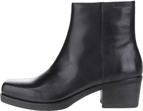 4909f196cb7 Černé dámské kožené kotníkové boty Vagabond Ariana - Glami.cz