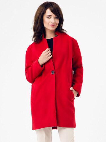 Peperuna Dámsky kabát PE159 RED - Glami.sk 40e1fb0028