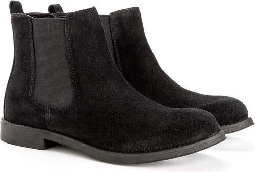 bottes doublées noires