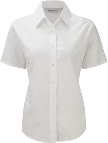 a371df082c4 Dámská košile Oxford s krátkým rukávem Russell collection - Glami.cz