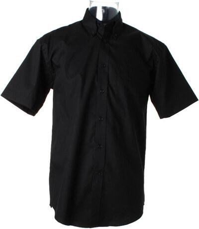 Pánská firemní košile Oxford s krátkým rukávem Kustom kit - Glami.cz e40b83280f