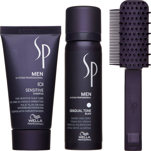 Wella Professionals SP Men Gradual Tone Black sada pre navrátenie  prirodzenej farby vlasov 46757c7411f