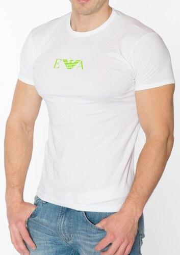 Pánske tričko Emporio Armani 110853 5P715 L Biela - Glami.sk 428012bc19d
