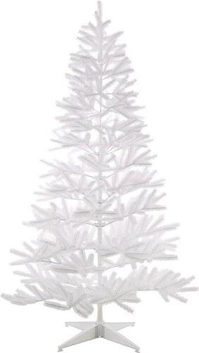 Künstlicher Weihnachtsbaum in edlem Weiß