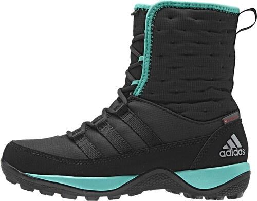 9a360a4aa86 adidas Zimní dětské kotníkové boty černá EUR 37 - Glami.cz