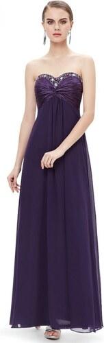 Ever Pretty plesové dlouhé šaty fialová - Glami.cz 74ab76c6cb