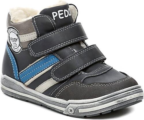 8bb6febc58d Dětská obuv Peddy PV-636-37-03 modré chlapecké zimní boty - Glami.cz