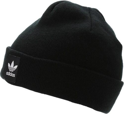c119cc01dd7 čepice adidas Originals Rib Logo 1 - Black White - Glami.cz