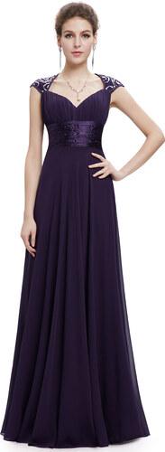 Ever Pretty plesové dlouhé šaty s flitry - Glami.cz 7cf651e5cf