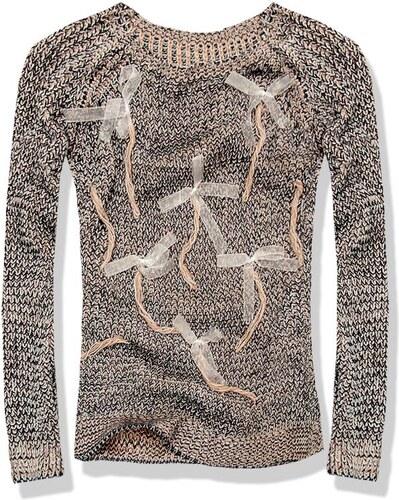 Pullover schwarz/grau MODA02ST