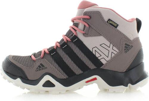 adidas NEO Dámské šedo-hnědé kotníkové boty ADIDAS AX2 MID GTX W ... 29ff2ee044