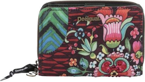 Zeleno-červená menšia peňaženka Desigual Magnetic Ikara - Glami.sk 94ad470b8fe