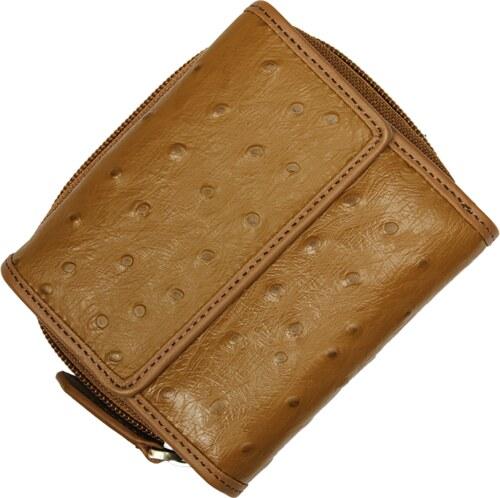 malá kožená peněženka 485 Taupe
