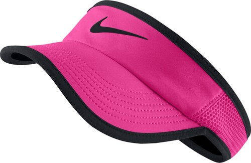 Nike NK Arobill Fthrlt Visor růžová 54–57 - Glami.cz 576edfd115