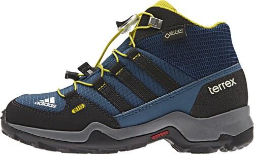 8a219e59fe2 Dětská obuv adidas Terrex Mid Gtx K modrá - Glami.cz