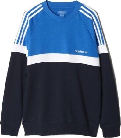 Pánská mikina adidas Itasca Crew modrá - Glami.cz eadecc5007