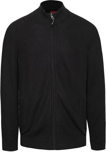 Černý pánský svetr na zip s.Oliver - Glami.cz 2895671fc6