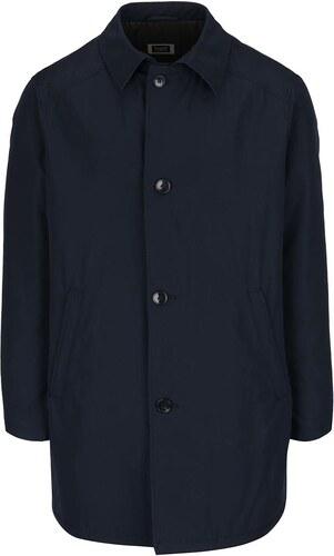 Tmavě modrý kabát s příměsí vlny bugatti - Glami.cz f9ab87b689